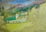 Ruskin's Watercolor of Brantwood