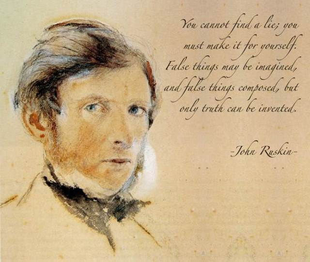 Ruskin--Invention of Truth