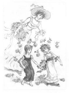 Kate Greenaway Drawing--Fors 96