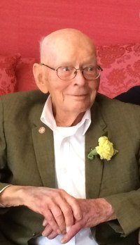 Van Burd at his 100th Birthday--cropped