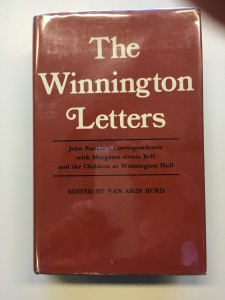 Van--The Winnington Letters Cover