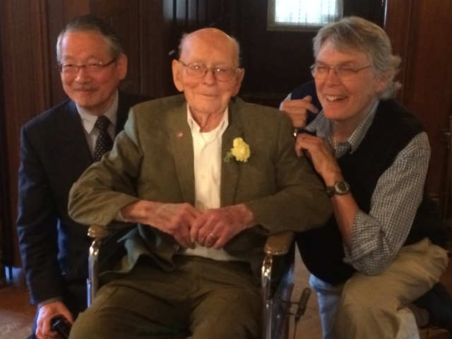 Van's 100th Birthday--Shoji Sato, Van, self