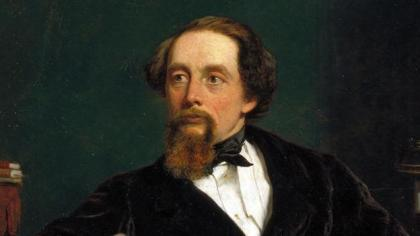 Charles Dickens at the age of 47, by William Powell Frith. London, England, 1859