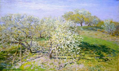 apple-trees-in-bloom--Monet