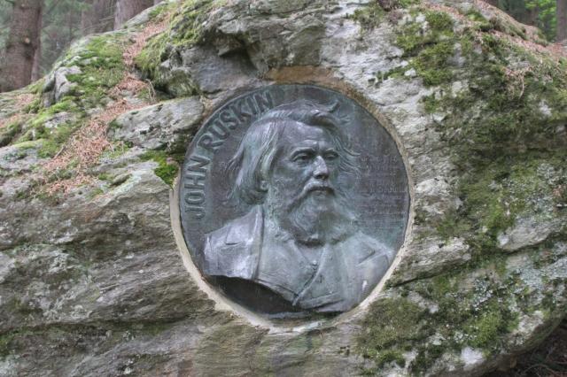 25-Ruskin Memorial-Ruskin's Rock