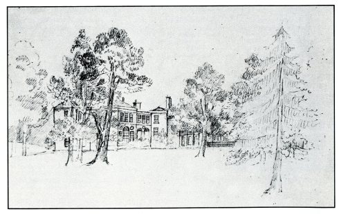 Sketch of Winnington Hall