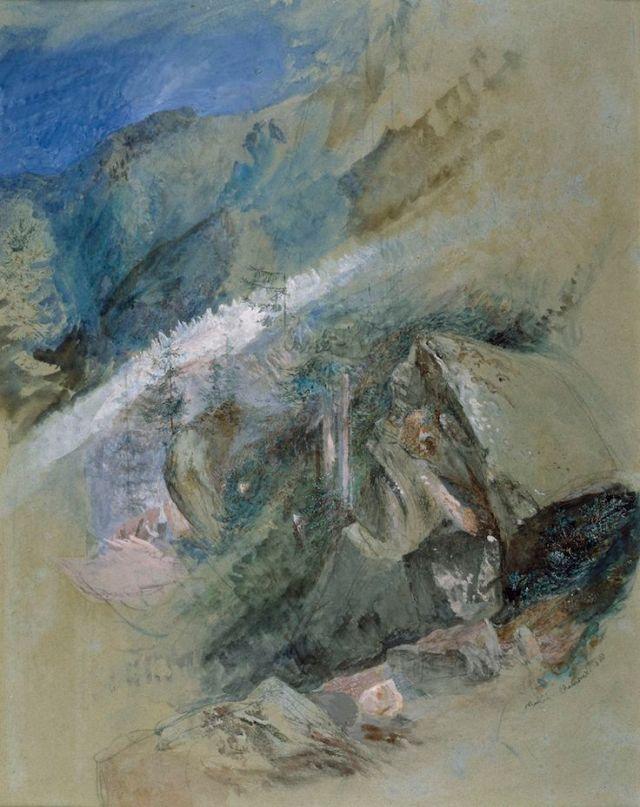 Mer de Glace Chamonix 1860