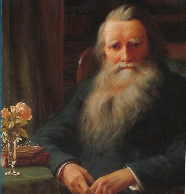 Collingwood--Portrait of Ruskin, Brantwood, 1897