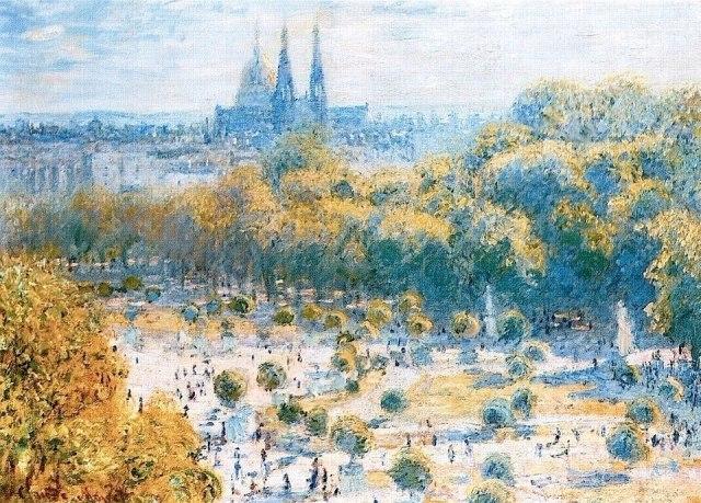 Monet--Gardin Tuileries
