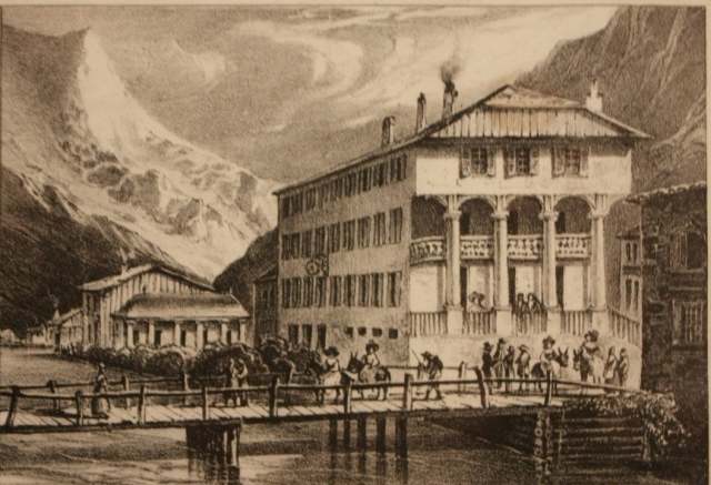The Union Inn Chamouni mid-19th century