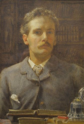 Collingwood Self-Portrait as a Young Man--Abbot Hall original