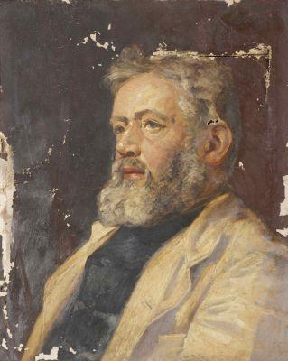 Collingwood Self Portrait as Sea Captrain--Abbot Hall