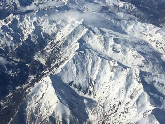 Alps 2018 from air 2