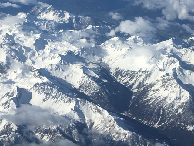 Alps 2018 from air