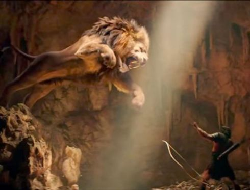 Hercules and the Namean Lion