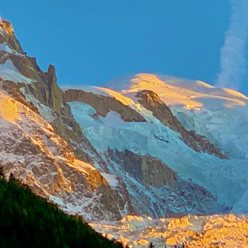 Mont Blanc Sunset October 2019
