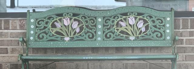 Geneva Riband and Flowers