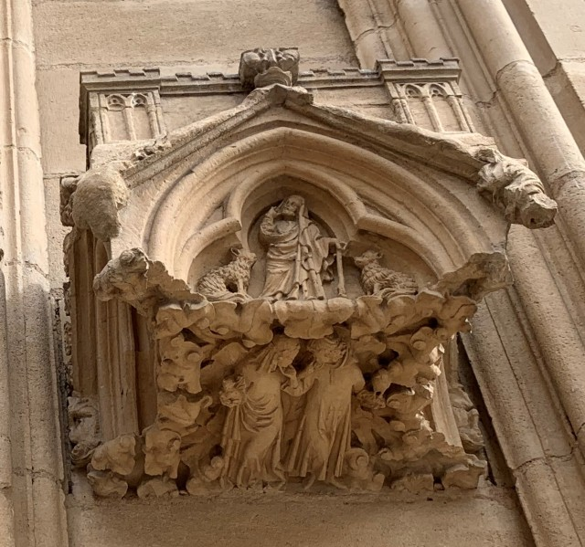 Lyons Cathedral--Facade Bracket #3