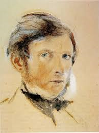 Ruskin Self-Portrait 1861