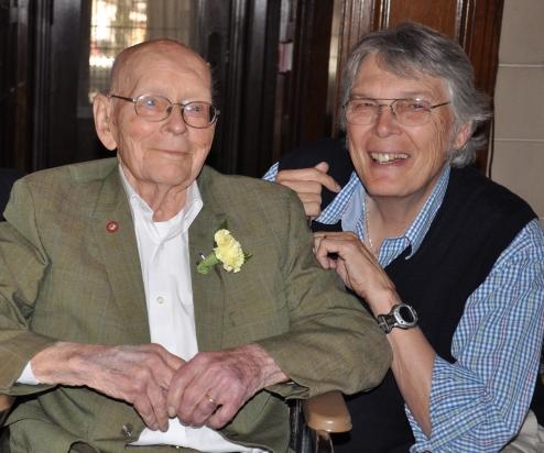 Van's 100th Birthday--Shoji Sato, Van, Jim