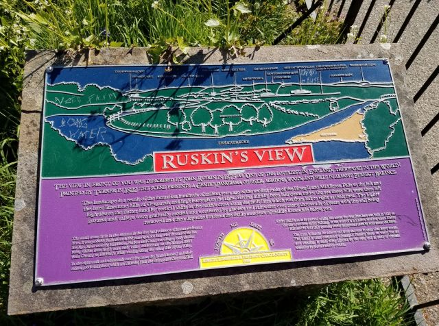 Peter Howell Ruskins View Marker 2029
