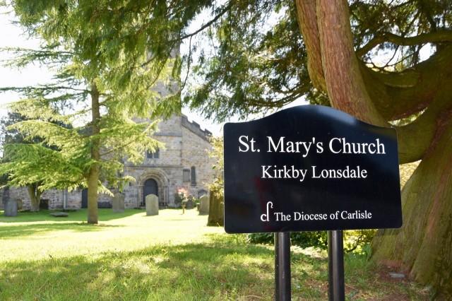 Wendy Ward St. Mary's Churchyard 2019